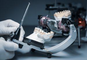 orthodontic prosthesis. laboratory. close-up